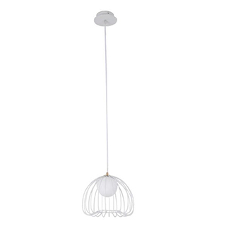 PENDENTE LAMP 38cmx33cm 1xG9 BIVOLT – Branco | BELLA ML004W 1