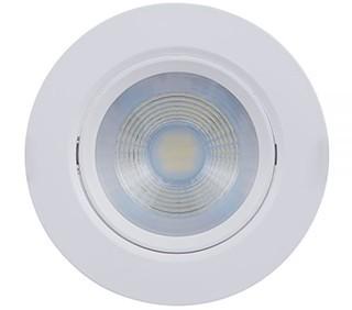 SPOT/LUMINÁRIA DE EMBUTIR LED DOWNLIGHT REDONDO 2700K (LUZ AMARELA) 7W PAR20 | BRILIA 302860 1