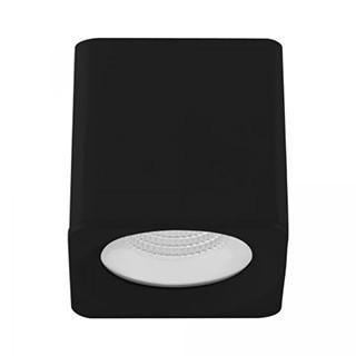 SPOT/PLAFON DE SOBREPOR LED DOWNLIGHT QUADRADO 2700K (LUZ AMARELA) 9W BIVOLT METAL BRANCO | BRILIA 303959 1