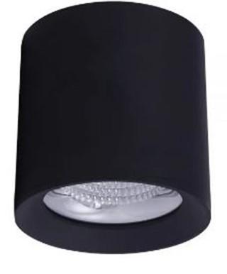 SPOT/PLAFON DE SOBREPOR LED DOWNLIGHT REDONDO 2700K (LUZ AMARELA) 15W BIVOLT METAL PRETO | BRILIA 304475 1