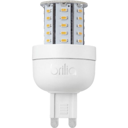 LÂMPADA HALÓGENA LED BIPINO  4W G9  (LUZ AMARELA) BIVOLT | BRILIA 434079  1