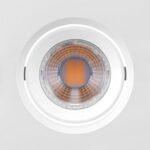 SPOT/LUMINÁRIA DE EMBUTIR LED DOWNLIGHT QUADRADO 6500K (LUZ BRANCA) 3W MINI DICROICA | BRILIA 435892