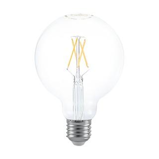 LÂMPADA LED G95/GLOBO E27 FILAMENTO 2700K (LUZ AMARELA) 4W 220V   BRILIA 437148 1