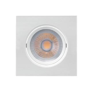 SPOT/LUMINÁRIA DE EMBUTIR LED DOWNLIGHT QUADRADO 2700K (LUZ AMARELA) 7W BIVOLT PAR20 | BRILIA 439432 1