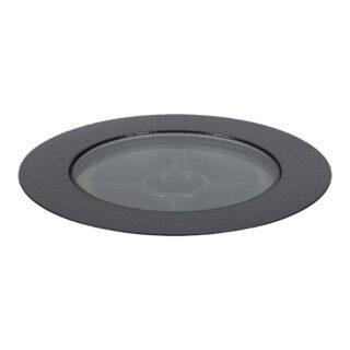 EMBUTIDO DE SOLO FLAT IN - ANTIOFUSCANTE - Ø108MM - LED 2700K(LUZ AMARELA) 6W 12V 30° | INTERLIGHT 3649-12V-AB-S