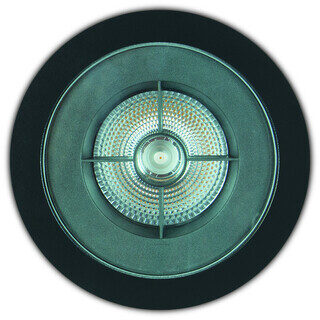EMBUTIDO DE SOLO FLAT IN - ANTIOFUSCANTE - Ø192MM - LED 2700K(LUZ AMARELA) 16W BIVOLT 10° | INTERLIGHT 3651-FE-S