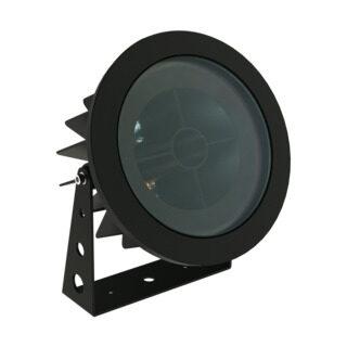 PROJETOR DE SOLO FLAT OUT - ANTIOFUSCANTE - Ø192MM - LED 2700K(LUZ AMARELA) 16W BIVOLT 30°   INTERLIGHT 3652-AB-S