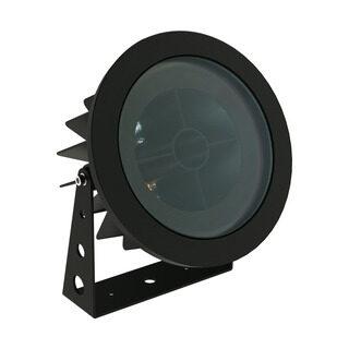 PROJETOR DE SOLO FLAT OUT - ANTIOFUSCANTE - Ø192MM - LED 2700K(LUZ AMARELA) 25W BIVOLT 30° | INTERLIGHT 3654-AB-S