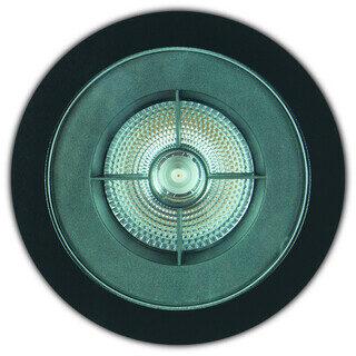 EMBUTIDO DE SOLO FLAT IN - ANTIOFUSCANTE - Ø192MM - LED 3000K(LUZ AMARELA) 35W BIVOLT 10° | INTERLIGHT 3655-FE-W